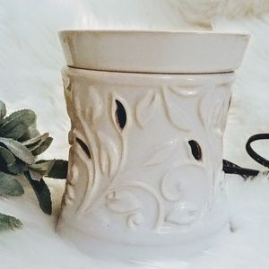 Olympic mountain wax warmer,white ceramic